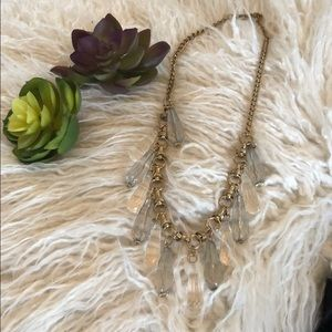 Jewelry - Necklace with Crystal like drops